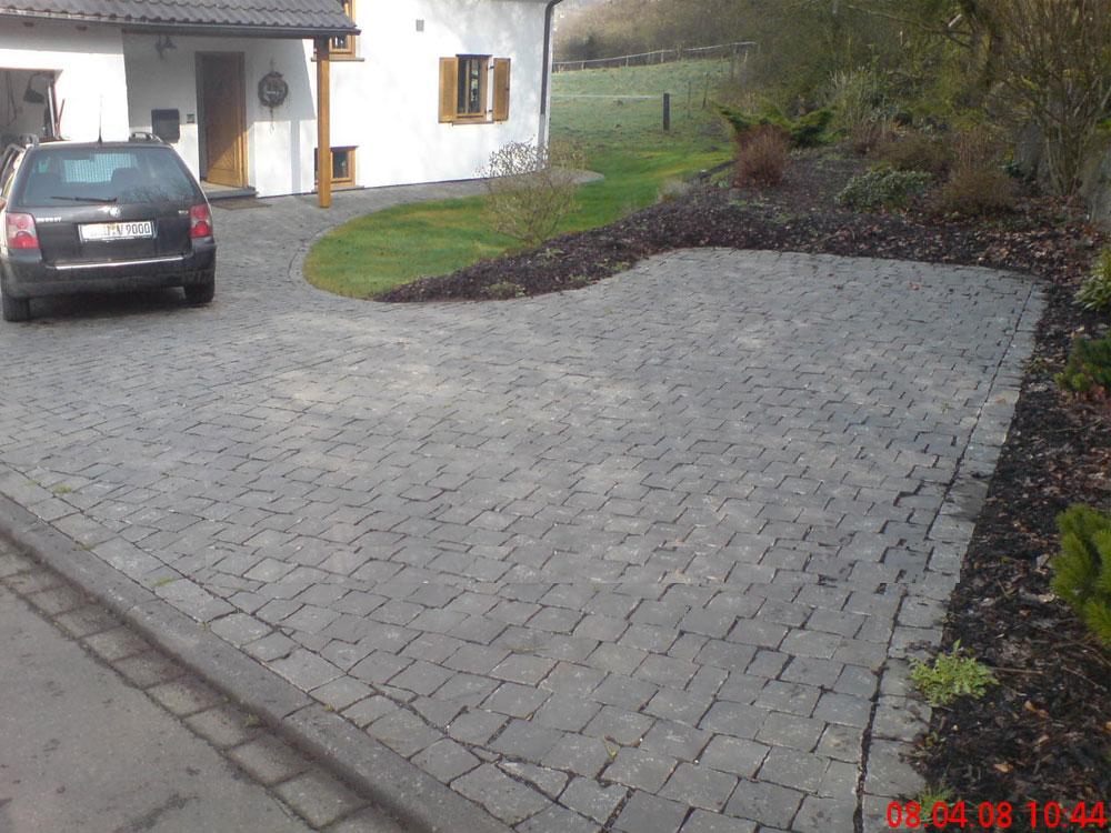 Verlegemuster Granitpflaster pflasterbau